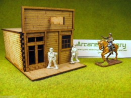 Old West Cowboy Building #1 Small 25mm, 28mm Terrain, D001