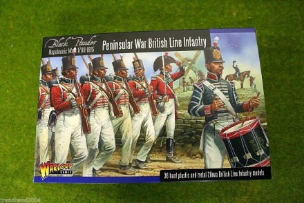 PENINSULAR WAR BRITISH LINE INFANTRY  Black Powder 28mm Napoleonic Wars