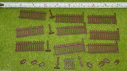 FENCES – PICKET FENCES Renedra Wargames Scenery &  Terrain 28mm