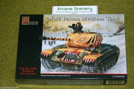 Pegasus 1/72  M-46 PATTON MEDIUM TANK 7506