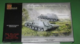 Pegasus 1/72 WW2 ISU-122/152 Soviet Assault Guns 7670