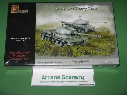 Pegasus 1/72 WW2 JS-2 Soviet Heavy Tank 7669