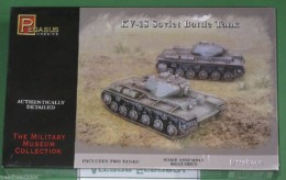Pegasus 1/72 WW2 KV-1S Soviet Battle Tanks set 7667