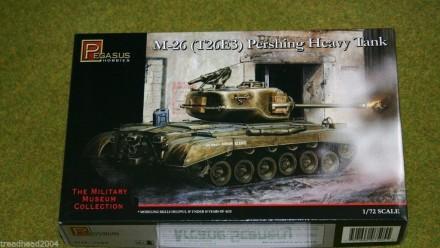 Pegasus 1/72 WW2 M-26 (T26E3) PERSHING HEAVY TANK 7505