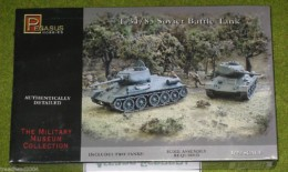 Pegasus 1/72 WW2 T-34/85 Soviet Battle Tank 7662