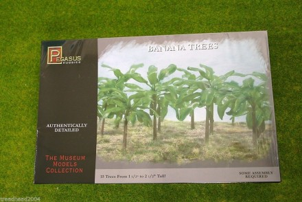 Pegasus BANANA TREES 28mm wargames Terrain & Trees 6509