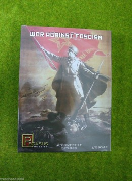 Pegasus WAR AGAINST FASCISM WW2 RUSSIANS 1/72  7267