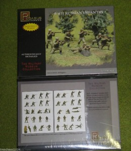 Pegasus WW2 RUSSIAN Infantry  1/72 set 7498