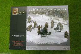 Pegasus WW2 RUSSIAN MORTAR TEAMS in Greatcoats  1/72 7273