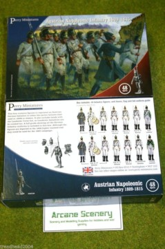 Perry Miniatures AUSTRIAN NAPOLEONIC INFANTRY 1809-1815 28mm