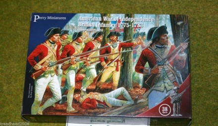 Perry Miniatures BRITISH INFANTRY 1775-1783 American War of Independence 28mm