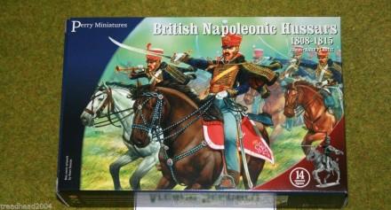 Perry Miniatures BRITISH NAPOLEONIC HUSSARS 28mm plastic set