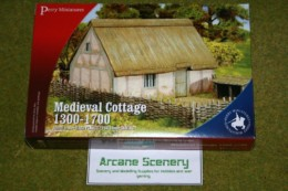 Perry Miniatures MEDIEVAL COTTAGE 1300 – 1700 28mm kit