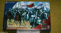 Perry Miniatures Mounted Men at Arms 1450-1500 28mm Plastic set
