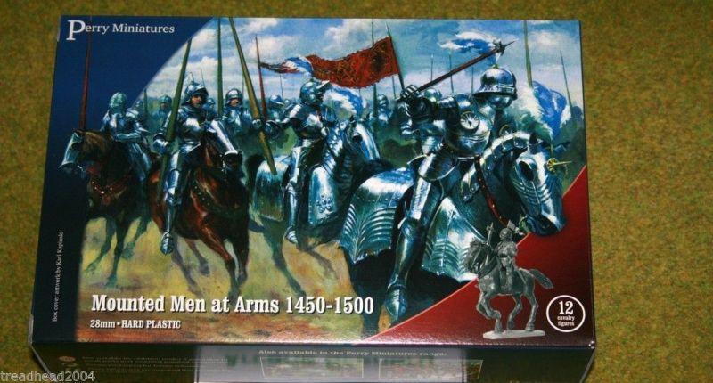 Perry-Miniatures-Mounted-Men-at-Arms-1450-1500-28mm-Plastic-set-400625436222