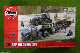 RAF Recovery Set 1/76 Scale Airfix Model Kit 03305