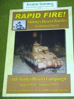 RAPID FIRE Monty's Desert Battles rules supplement