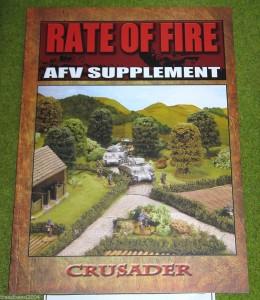 RATE OF FIRE World War II AFV SUPPLEMENT Rules Book