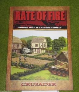 RATE OF FIRE World War II Skirmish Wargames Rules Book