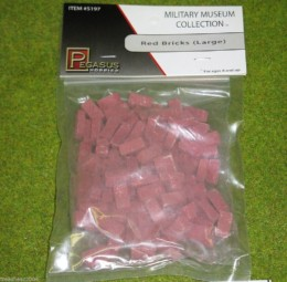 RED BRICKS (LARGE) 5197 Wargames scenery & terrain 28mm