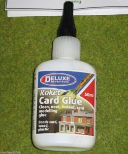 ROKET CARD GLUE Scenery & terrain Adhesive Deluxe