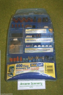ROTACRAFT ROTARY TOOL ACCESSORY KIT & DRILL SET 19506