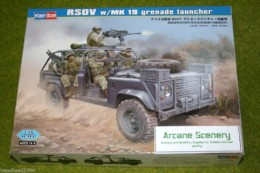 RSOV with MK 19 Grenade Launcher 1/35 Scale Hobby Boss 82449 D