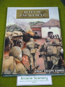 RULES OF ENGAGEMENT Wargames Rules Book World War 28mm
