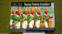 RUSSIAN PAVLOVSK GRENADIERS Warlord Games Black Powder 28mm Napoleonic