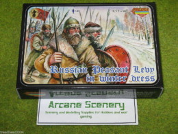 RUSSIAN PEASANT MEDIEVAL LEVY 1/72 Strelets M027