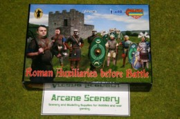 Roman Auxilliaries before battle 1/72 Scale Strelets mini set M033