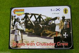 SHAAB with Crusader Crew 1/72 Scale Strelets A010