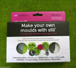 SILLI MOULD PUTTY 150 grams Silicon Moulding System