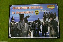Strelets British Line Infantry in Overcoats – 1 1/72  M094
