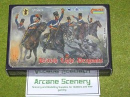 Strelets CRIMEAN BRITISH LIGHT DRAGOONS 1/72 set 0040