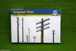 TELEGRAPH POLES  Italeri 1:35 Scale 404