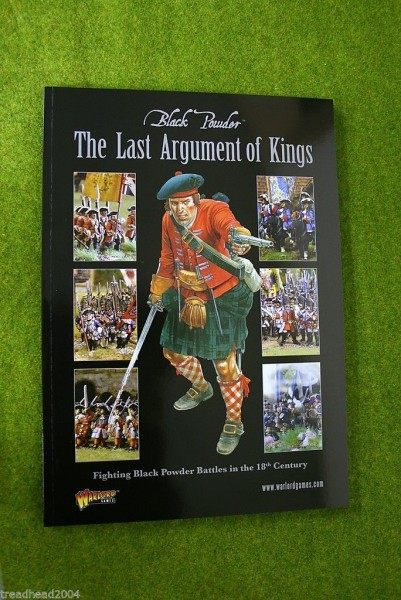 Black Powder THE LAST ARGUMENT OF KINGS rule supplement