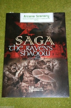 SAGA THE RAVENS SHADOW Rules Supplement & Battle boards GRIPPING BEAST