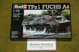 "TPz 1 ""Fuchs"" A4 1/72 Scale Revell Military Kit 3114 D"