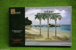 Tall Palm Trees Terrain 28mm Pegasus Hobbies Set A 6501