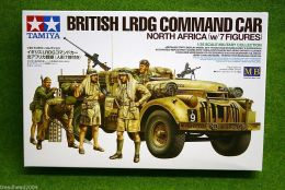 Tamiya BRITISH L.R.D.G. Command Car North Africa 1/35 Scale Kit 32407