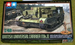 Tamiya BRITISH UNIVERSAL CARRIER MKII 1/48 Scale Kit 32516