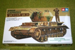 Tamiya GERMAN FLAKPANZER IV WIRBELWIND 1/35 Scale kit 35233