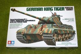Tamiya GERMAN KING TIGER Porshe Turret 1/35 Scale Kit 35169