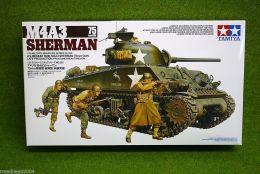 Tamiya M4A3 SHERMAN 75mm GUN Medium Tank 1/35 Scale Kit 35250