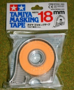 Tamiya MASKING TAPE & Dispenser 18mm width Modelling Accessories item 87032