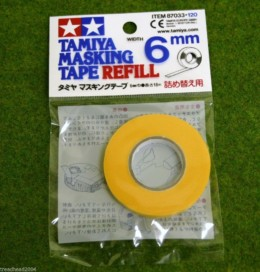 Tamiya MASKING TAPE REFILL 6mm width Modelling Accessories item 87033