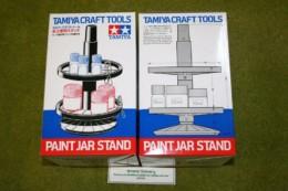 Tamiya  PAINT JAR STAND SET Modelling Accessories 74077