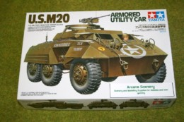 Tamiya US M20 ARMOURED UTILITY CAR 1/35 Scale Kit 35234