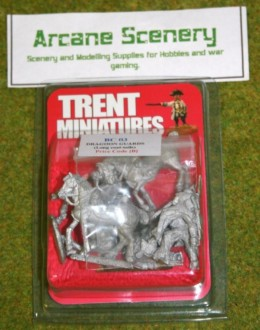 Trent Miniatures BC03 BRITISH DRAGOON GUARDS (DRAGOONS) 28mm